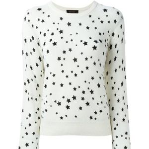 Kate Moss for Equiptment Star Cashmere sweater
