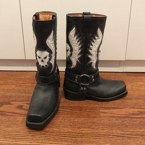 Buffalo biker boot never been worn