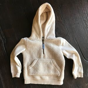 MINI BODEN HOODED SWEATSHIRT SWEATER shirt SZ 2-3Y