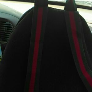 Awesome Real Gucci Canvas Backpack 9 10 Condition Andrewgaddart Wooden Chair Designs For Living Room Andrewgaddartcom