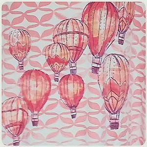 Karen Scott Tops - Karen Scott Hot Air Balloon Tee Peach Size 3X