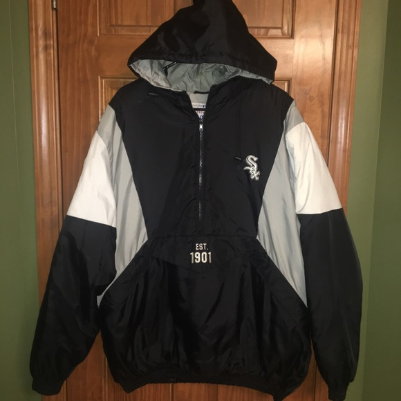 new product ea6f1 572ea ⚾️ Men's Chicago White Sox pullover jacket ⚾️