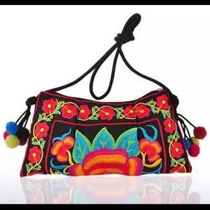 Handbags - Hmong Hill Tribe Embroidered Thai Lanna Clutch
