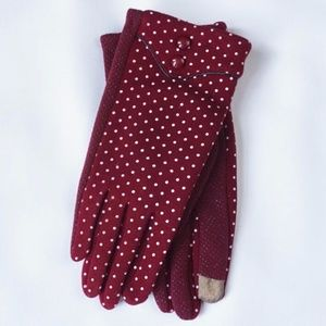 Accessories - { Red } Winter Tech Gloves