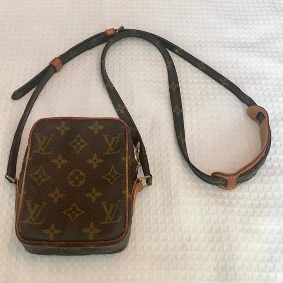 0adf99501a4 Authentic Louis Vuitton Mini Danube Crossbody Bag