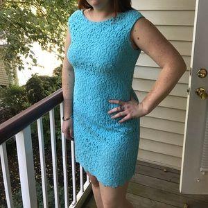 Ralph Lauren Light blue lace dress