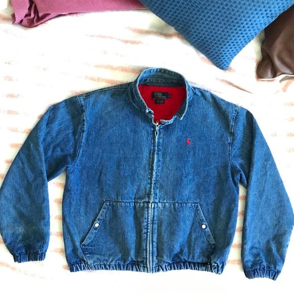 e3d0e3879 Polo Ralph Lauren Vintage 90s Denim Jean Jacket. M 59dfbb2d713fde1a98000695