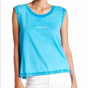 Wild fox tank blue mermaid small