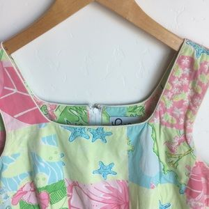 Lilly Pulitzer Dresses - ⬇️ $48 Lilly Pulitzer Aruba Patchwork Dress Size 8