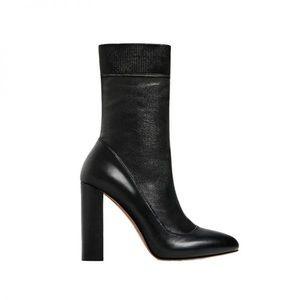 Zara Black Sock Boot *NEW*