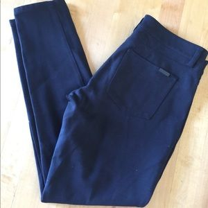 Black skinny leg WHBM pants
