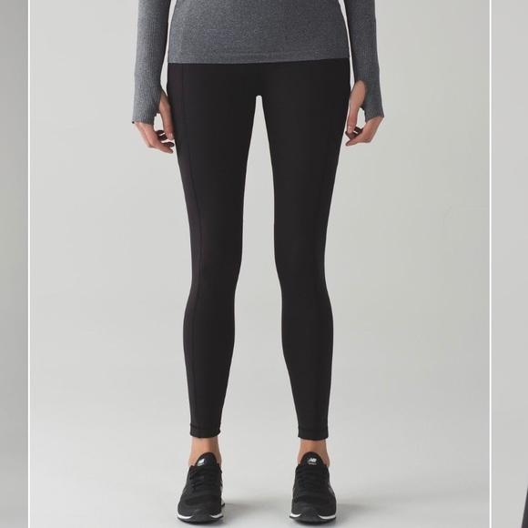 2370a3fe063b3 lululemon athletica Pants | Lululemon Fleece Lined Speed Tight 6 ...