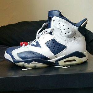 Jordan Shoes - Air jordan olympic 6's