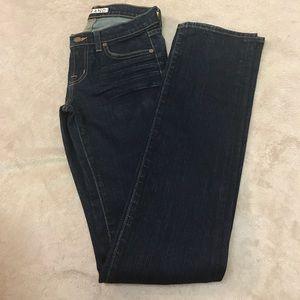 J Brand Stretch Ink Cigarette Leg Jeans Size 25
