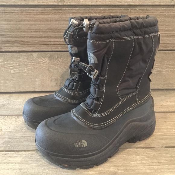 c1731ba0d Boys North Face Garçons Snow Boots, Sz 4