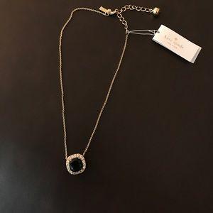Kate spade basket pave necklace