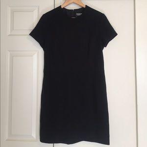 Vintage Chanel black dress size 42