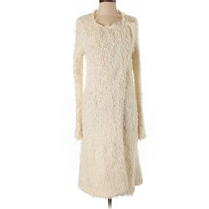 Like new! Free People furry maxi cardigan