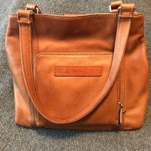 EUC Vintage Fossil leather bag