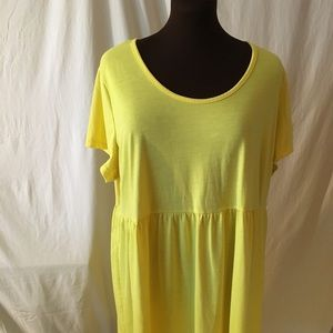 Simply Be Yellow sundress. 3x