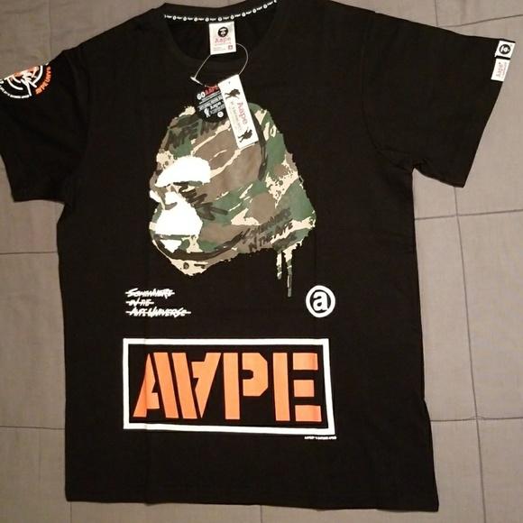 9d827a057 A-Bathing Ape Shirts | Bape Tshirt Men | Poshmark