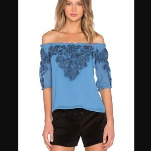 For Love & Lemons Sicily Top