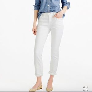 J.Crew Slim broken-in boyfriend jean in white 29
