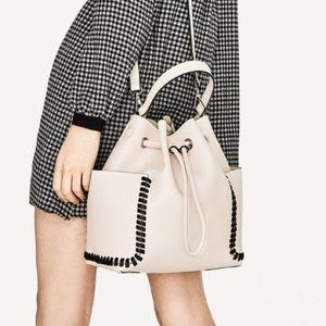 Zara Basic Collection Bucket Handbag