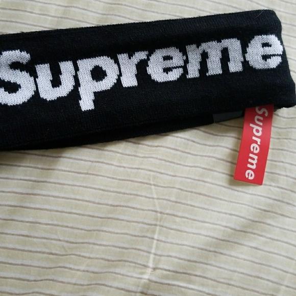 Supreme Headband Authentic 5eed259e88