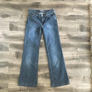 ZARA Wide Leg Flare Trouser Jean