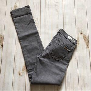 Michael Kors Bright Grey Denim Skinny Jeans