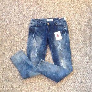 Denim - Acid wash jeans