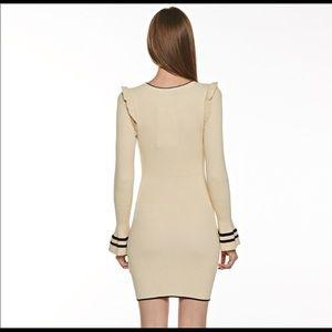 Dresses - Classic Ruffle Sweater Dress