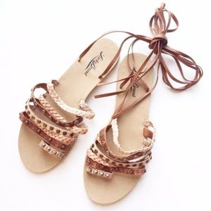 Lucky Brand Strappy Sandals