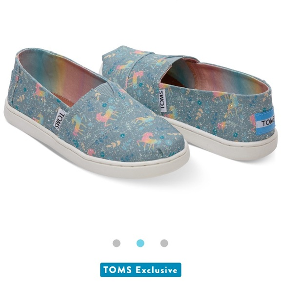 723e8dfc33e Toms Shoes | Bnibfrost Rainbow Unicorn | Poshmark