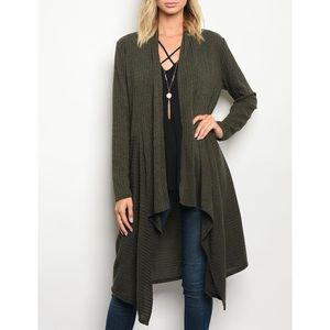 | FOREST GREEN CARDIGAN |