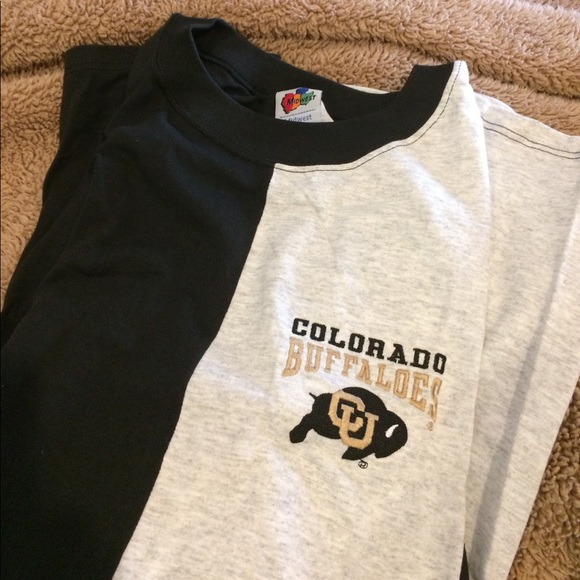 Midwest Embroidery Other Nwot Colorado Buffalo Embroided Tee Xl
