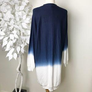 0368e7646b Three Dots Sweaters - THREE DOTS Cashmere-Blend Ombre Cardigan🍂💙