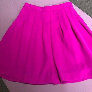 Hot pink J. crew skirt size 00