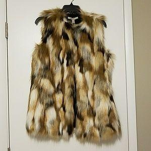 Zara Trafaluc Outerwear Fur vest