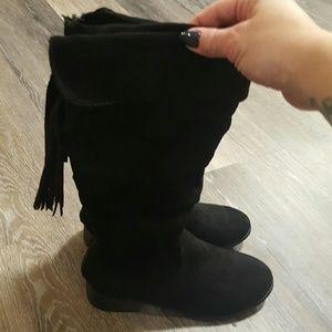 Girls calf boots