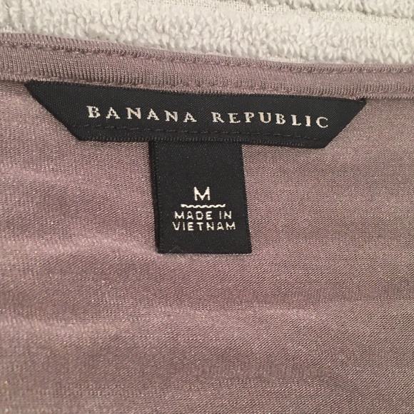 Banana Republic Tops - Banana Republic Womens Gray 3/4th Sleeve Shirt - M
