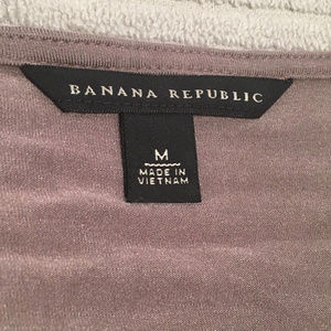 Banana Republic Tops - Banana Republic Womens Gray 3/4th Sleeve Shirt - M