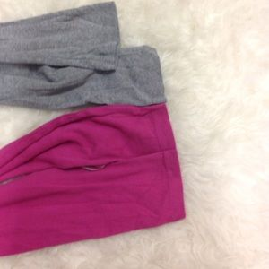 Banana Republic Tops - Pink & Gray Long sleeve tops XS/S BR/J Crew