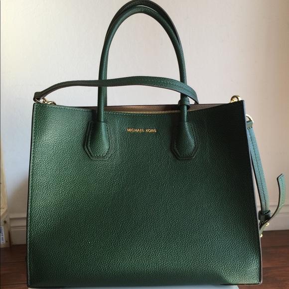 74d515ffbeaa Michael Kors Bags   Mk Mercer Large Green   Poshmark