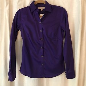 Banana Republic Tops - NWT Banana Republic non-iron fitted shirt Size 0