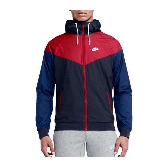c76b88f442 Nike Men s Large Black Red Blue Windbreaker. M 59e253d1f0137d12e10215b9
