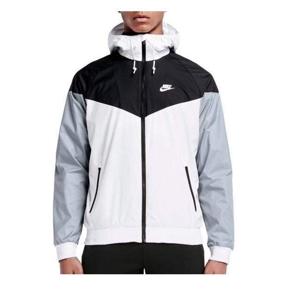 2c965468d Nike Men's Large Black Gray White Windbreaker. M_59e2549236d594655c021bb0
