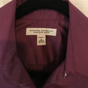 Banana Republic Tops - Banana Republic non-iron fitted shirt Size 0.
