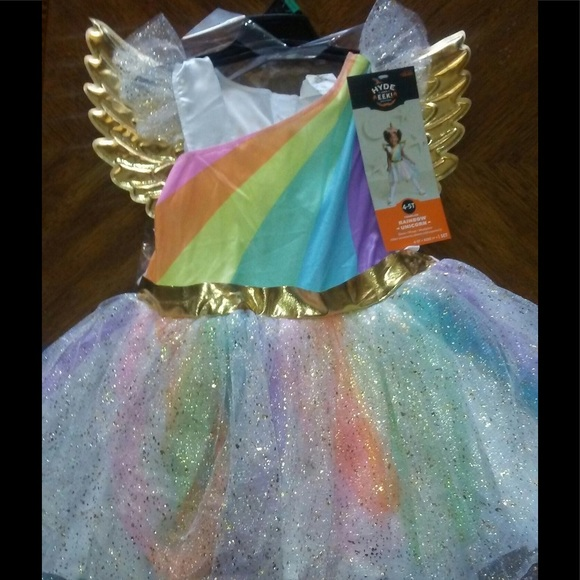 Toddler Girls Unicorn Costume size 4-6